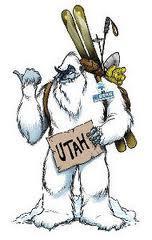 Did you know you can follow the Skit Utah Yeti on twitter? @skiutahyeti
